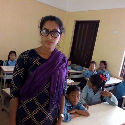 The new teacher Kalpana